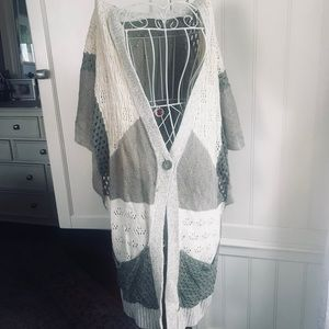 Anthropologie long cardigan by Moth